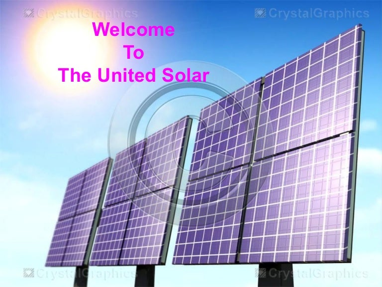 Solar Power The Natural Resource Of Energy