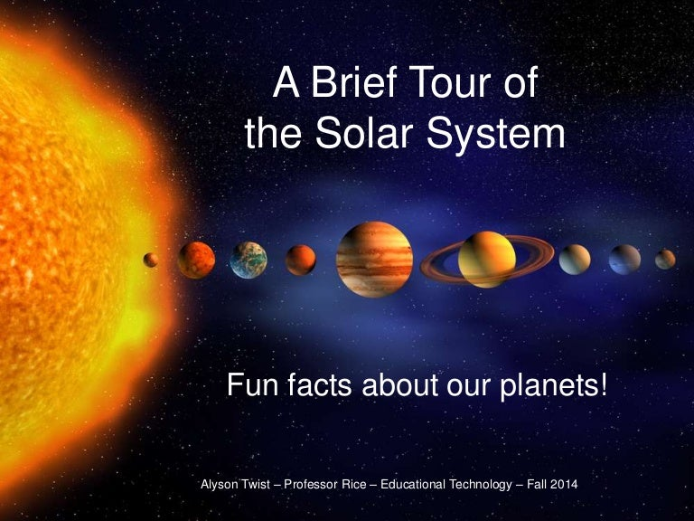 solar system facts - 768×576