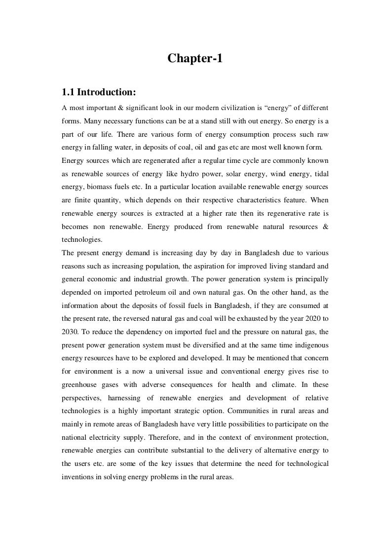 solar thesis paper