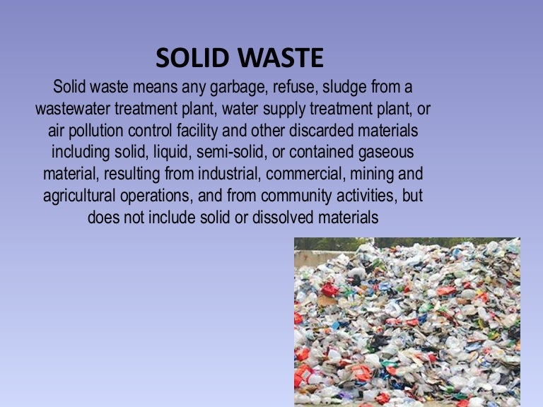 Solid Waste Management Ppt Presentation Download Image Gallery  Hcpr
