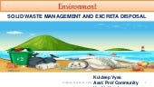 Environment - Solid Waste and Excreta Disposal