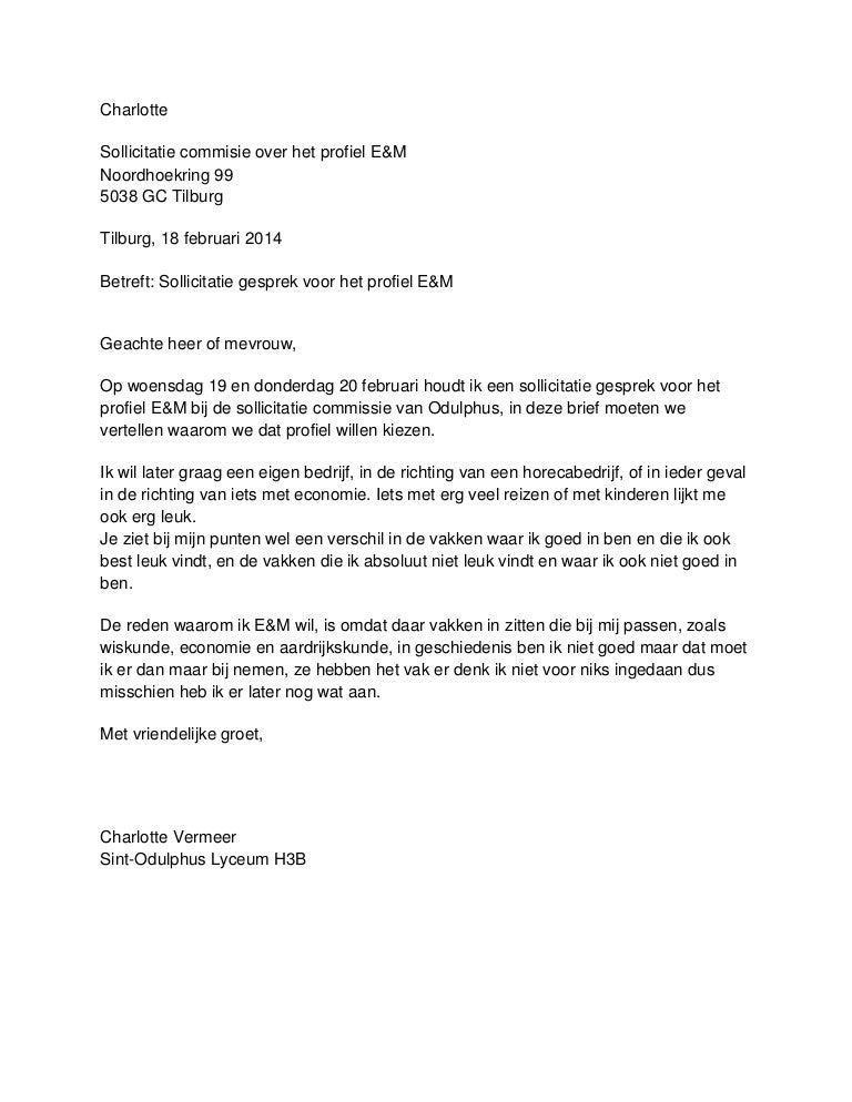 sollicitatie brief frans Sollicitatiebrief Frans | hetmakershuis sollicitatie brief frans