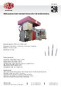Multi-purpose heat treatment furnace for the textile industry
