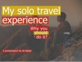 My solo travel experience - Morocco