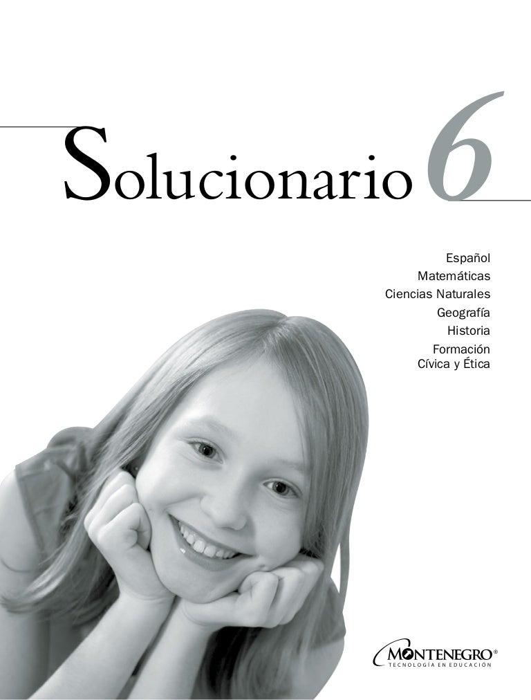 Libro De Matematicas 6 Grado Contestado 2020 Pag 44