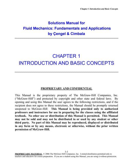 solution manual of fluid mechanics fundamentals and applications rh slideshare net fluid mechanics yunus cengel 1st edition solution manual fluid mechanics yunus cengel solution manual