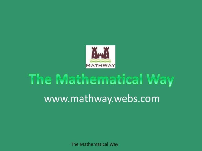 on mathway binary