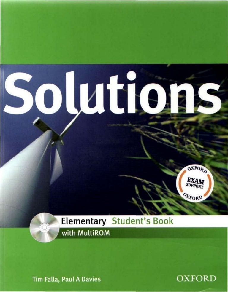 Solutions elementary student's book 3rd edition pdf ebook audio.