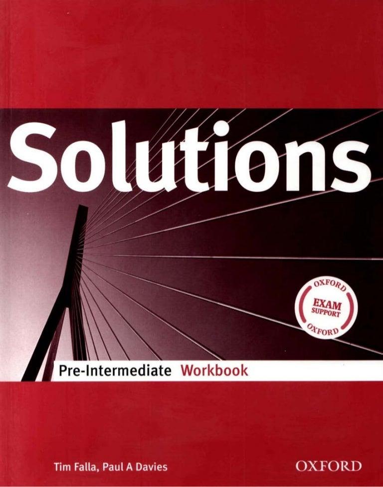 Solutions Pre Intermediate Wb