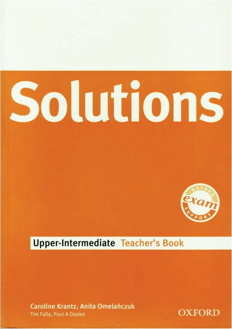 Solutions upper intermediate-tb