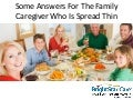 Family Caregiving and the Sandwich Generation