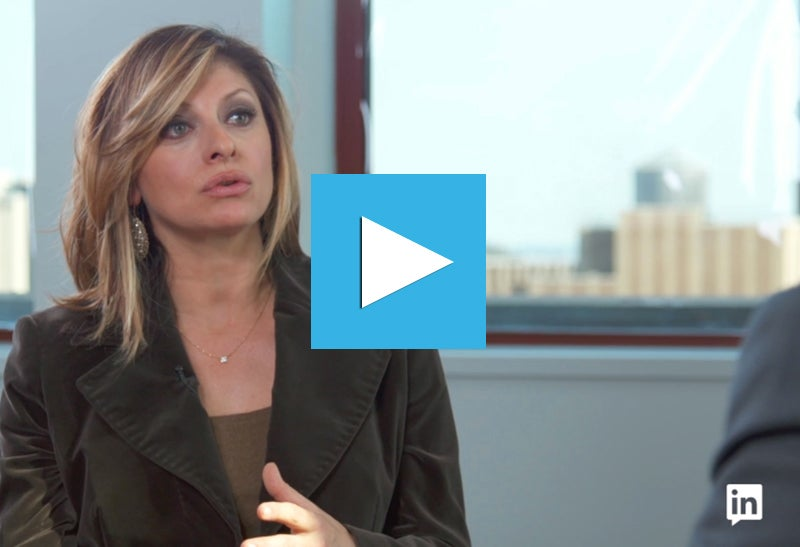 Maria Bartiromo on Being an Underdog and the State of the Media Industry
