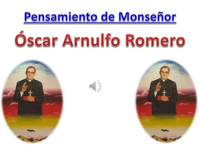 Pensamentos de Dom Oscar Romero