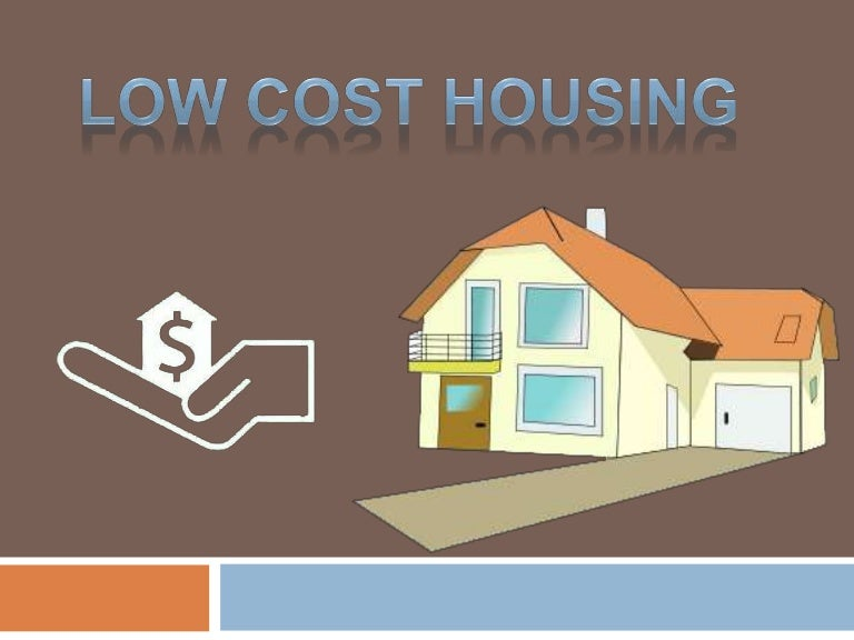 Low cost housing India