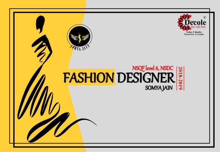 Somya Jain Diploma Fashion Design Second Year How To Design For Fa