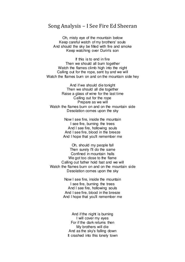 Then you ll remember me lyrics