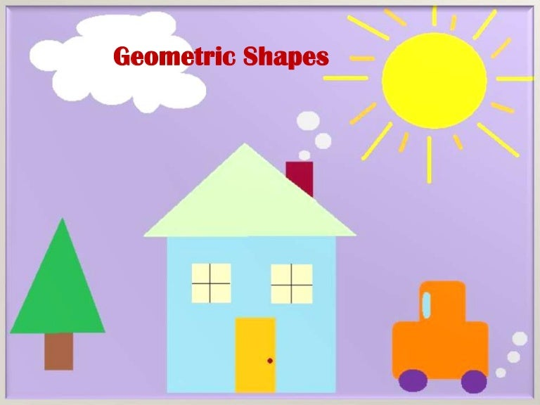 Geometric shapes powerpoint slide show for Different shapes of houses