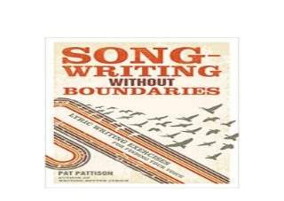 hardcover_$ library Songwriting Without Boundaries Lyric Writing Exercises for Finding Your Voice 'Full_Pages'