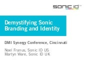 Demystifying Sonic Branding and Identity