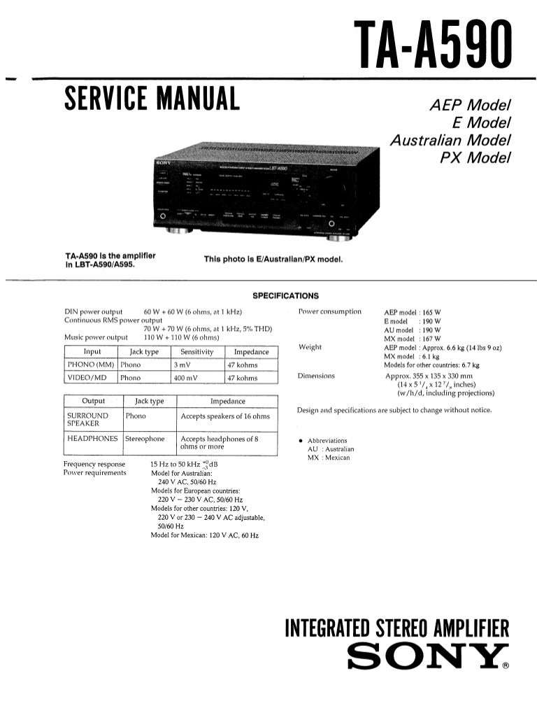 Magnificent Sony Xr 2100 Wiring Diagram Images - Electrical ...