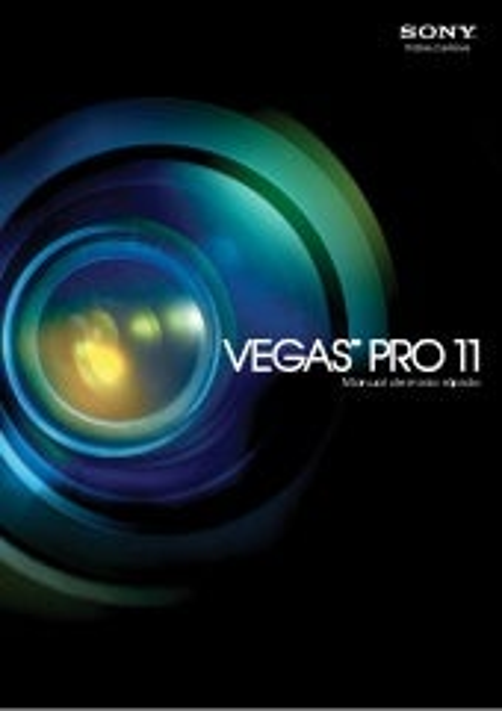 Sony Vegas Pro 11 Manual De Inicio Rápido