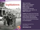 Sophiatown rainbow reading cambridge university press