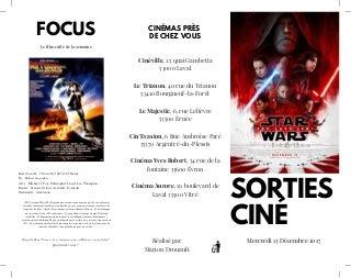 Sorties ciné n°12