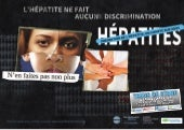 Sospaca Tenue de Stand Journée Mondiale contre les Hépatites 2015