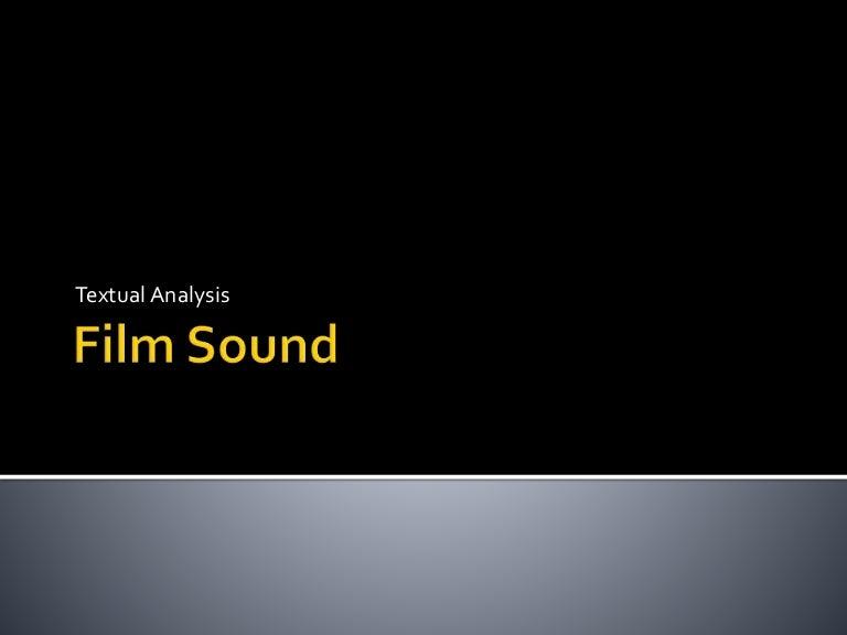 Film Sound Techniques
