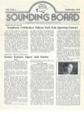 Newsletter series: Sounding Board, Sept 1976-May 1977