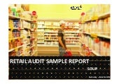 Emrooz Marketing Research Co. (EMRC) - Retail Audit - Soup Sample Report
