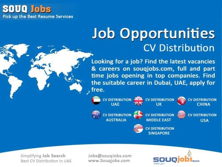 jobs in dubai cv distribution cv writing services resume writin