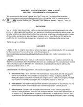 SourceForge.net Terms of Service (TOS) Amendment