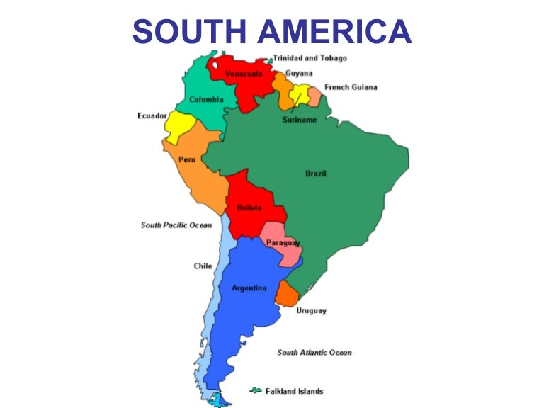 South America Intro PPT