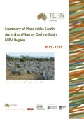 TERN Ecosystem Surveillance Plots South Australian Murray Darling Basin NRM Region