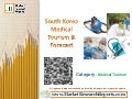 South Korea Medical Tourism & Forecast