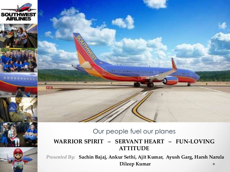 soutwest airlines case study Southwest airline case study 15774 words | 64 pages history southwest airlines has been a model of admiration for the airline industry and businesses from around the world combined.