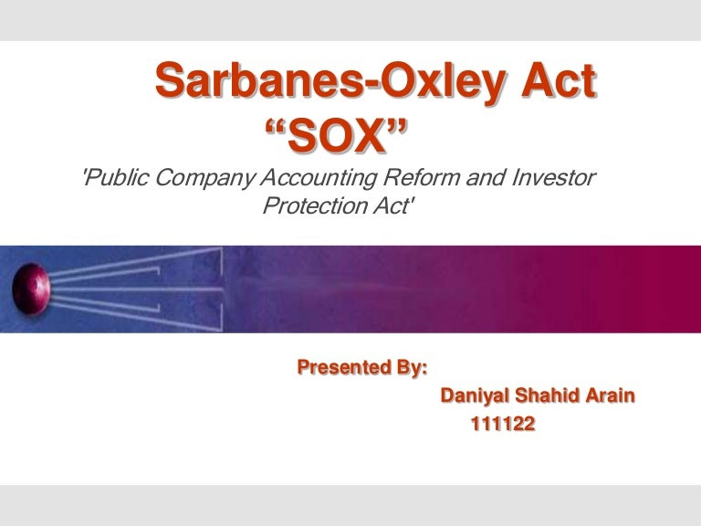 safeguarding assets the sox act The act imposed significant new responsibilities on boards of directors, corporate executives, audit committees, and internal and external auditors of public companies sox applies only to publicly owned.