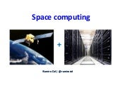 Space computing