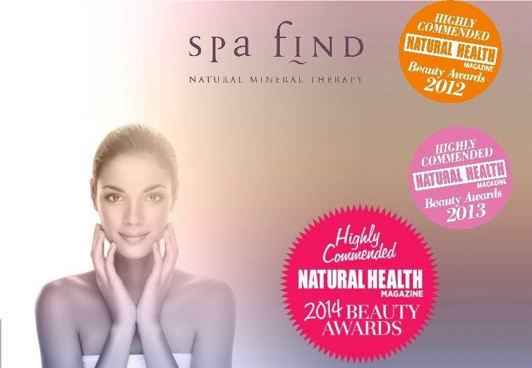 Natural healthy facial skin care