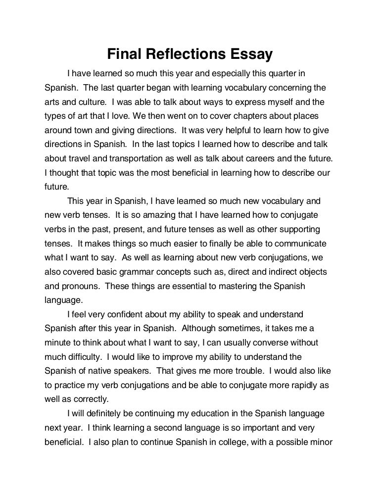 introduction of an essay definition in spanish - Observational Essay Examples