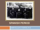 Spanish period (MSN)