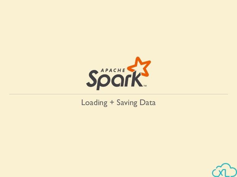 Apache Spark - Loading & Saving data | Big Data Hadoop Spark