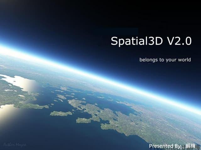 Spatial3d  introduction