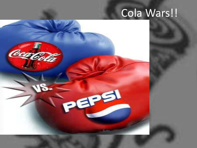 cola wars summary Cola wars executive summary we are going to show the cola wars in the twenty-first century, this war started when pepsi enter in the market (1983) when the incumbent coca-cola (coke) was already there (1886.