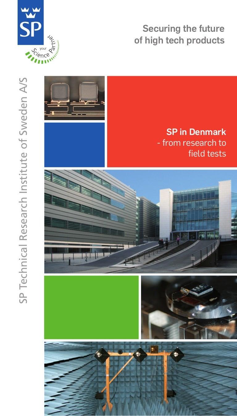 SP Denmark brochure