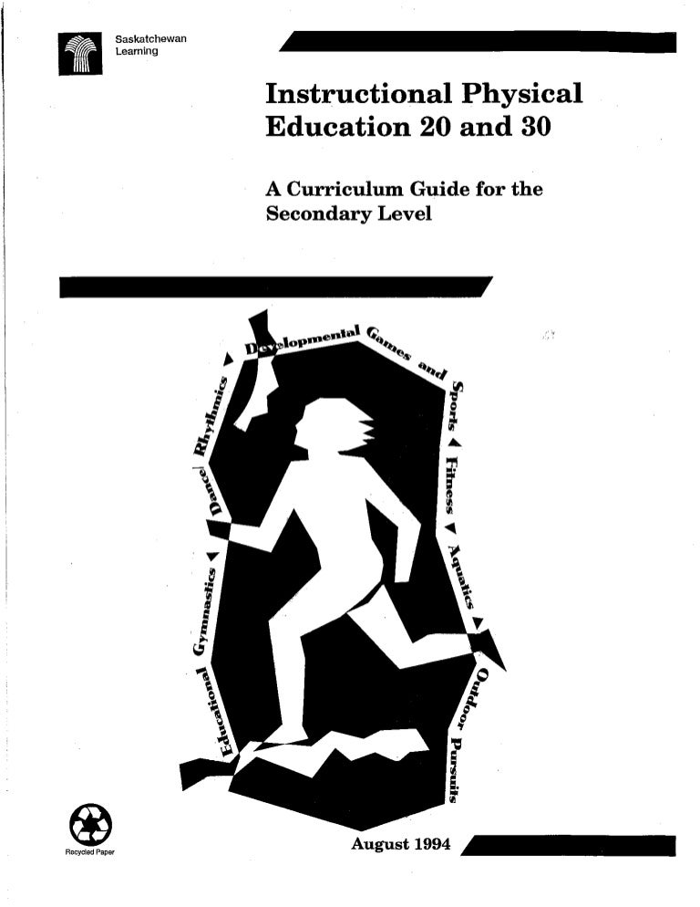 Spe 111 physical education manual
