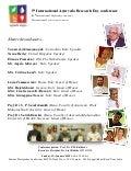 International Sushrut samhita divas and Ayurveda Research day conference, 31 January 2016, Pune, India