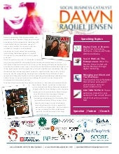 Dawn Raquel Jensen Speaker Kit: Social Media Strategy, Digital Marketing Speaking & Coaching
