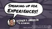 Speaking up for Experiences